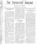 HU Journal, Volume 3 Issue 17