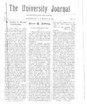 HU Journal, Volume 3 Issue 18