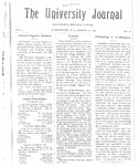 HU Journal, Volume 3 Issue 19