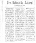 HU Journal, Volume 3 Issue 20