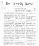 HU Journal, Volume 3 Issue 22