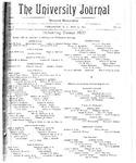 HU Journal, Volume 4 Issue 33