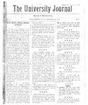 HU Journal, Volume 5 Issue 8