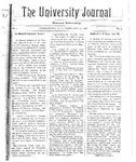 HU Journal, Volume 5 Issue 9