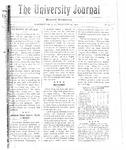 HU Journal, Volume 5 Issue 10