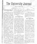 HU Journal, Volume 5 Issue 14