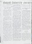 HU Journal, Volume 6 Issue 1