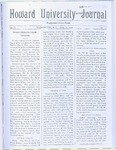 HU Journal, Volume 6 Issue 17