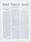 HU Journal, Volume 6 Issue 26