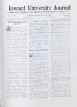 HU Journal, Volume 7 Issue 17