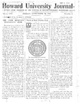 HU Journal, Volume 8 Issue 1