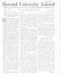 HU Journal, Volume 8 Issue 10