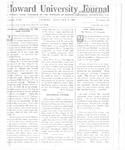 HU Journal, Volume 8 Issue 13