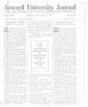 HU Journal, Volume 8 Issue 16