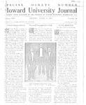HU Journal, Volume 8 Issue 26
