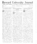 HU Journal, Volume 9 Issue 21