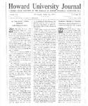 HU Journal, Volume 9 Issue 27