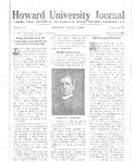 HU Journal, Volume 9 Issue 29