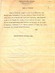 Dickerson, Olive S. -no date (press release)