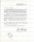 Euell, John H., Jr. -1943 (typescript)