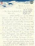 Marshall, George E. - 1945 (holographs)