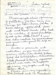 Price, J. Francis - 1945 (holograph)