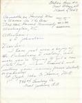 Ridgeley, Marion C. - 1943 (holograph)