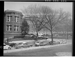 """Freedmen's Hospital Annex, View of North Side of """"W"""" Street Looking West. 1977"""