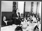 Dr. Stanton Wormly Speaking, Charter Day 1966