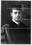 Dr. M. W. Johnson, Cap and Gown, (about 1926- 1927)