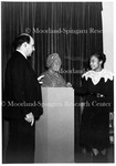 Augusta Savage, left, President Johnson for Founders Library, January 19, 1940.