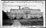Front View of Freedmen's Hospital, 1922