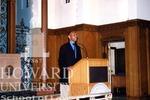 J. Clay Smith, Jr. at prayer in Howard University Law Chapel (2 images)