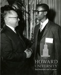 J. Clay Smith, Jr. with U.S. Senator Carl T. Curtis at the Whitehouse Conference on Children and Youth (2 images)