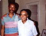J. Clay Smith, Jr. with Charles Sebree (Washington, DC)