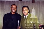J. Clay Smith, Jr. with Al Sharpton at Howard Law School