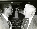J. Clay Smith, Jr. with Warren Burger, Chief Justice of the U.S. Supreme Court