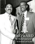 J. Clay Smith, Jr. with William Clay Sr. (D-Md. Congressman) at National assoc. of black Broadcasters Luncheon