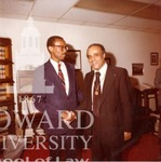 J. Clay Smith, Jr. with Benjamin Hooks, Commissioner  of Federal Communications Commission (FCC)