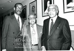 J. Clay Smith, Jr. with Louis Mehlinger and Charles Wesley (2 images)
