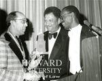 J. Clay Smith, Jr. with Hon. Spottswood Robinson and Melvin Washington