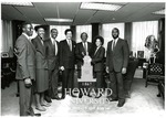 J. Clay Smith, Jr. with Jack Oleander, Dick Gregory, and others