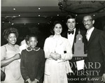 J. Clay Smith, Jr. with Michelle Lori Smith, Charles Robb, and Lynda Johnson Robb