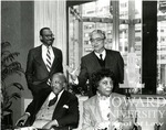 J. Clay Smith, Jr. with Judge Barrington Parker, Judge Norma Hollway Johnson, and Julian Digas