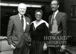 J. Clay Smith, Jr. with Dr. Hiram Lazar and Frankie Freeman