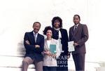 J. Clay Smith, Jr. with Lisa Wilson, Cynthia Mabry, and Erroll Brown on U.S. Supreme Court steps