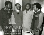 J. Clay Smith, Jr. with Charles Knox, Alvin Chambliss, and Plurial Marshall (2 images)