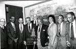 J. Clay Smith, Jr. with senior Law faculty