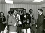 J. Clay Smith, Jr. with Chris Roggerson, and Ronald Arrington