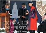 J. Clay Smith, Jr. receiving award from Creighton University